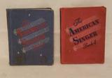 The American Singer Book 3 & 4 c1944 & 1945
