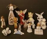 Assorted Angel Figurines