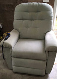La Z Boy Upholstered Heated Electric