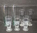 (7) Lager Glasses