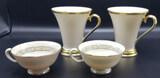 (4) Lenox Cups