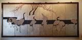 6-Panel Silk Screen Wall Hanging 107