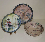 (3) Asian Inspired Decorative Items: 10