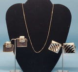 Assorted Sterling Jewelry: 18