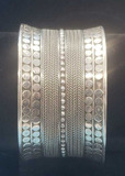 Sterling Cuff Bracelet Marked 925