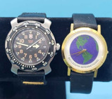 (2) Bellsouth Watches: Swiss Army Watch Marked