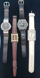 4 Watches: Visage, Pulsar, Bijou, Etc