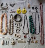 Costume Jewelry: Wood, Natural Stone, etc