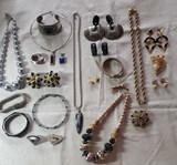 Costume Jewelry: Monet, Napier, Etc