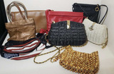 (7) Handbags & Leather Fanny Pack