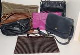 (7) Handbags: Coach, Francesco Biasia, Preston