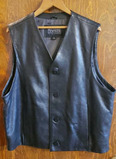 Leather Vest by Wilson Large