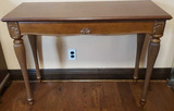 One-Drawer Sofa/Hall Table with Tapered