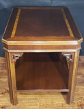 Chippendale-Style End Table--20