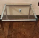 Glass Top End Table 30