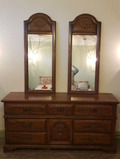 Triple Dresser w/Mirrors by Sumter Cabinet Co