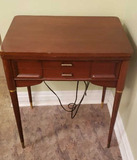 Sewing Machine Table w/Working Sewing
