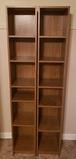 (2) 6-Shelf Book Cases