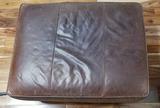 Leather Ottoman 32