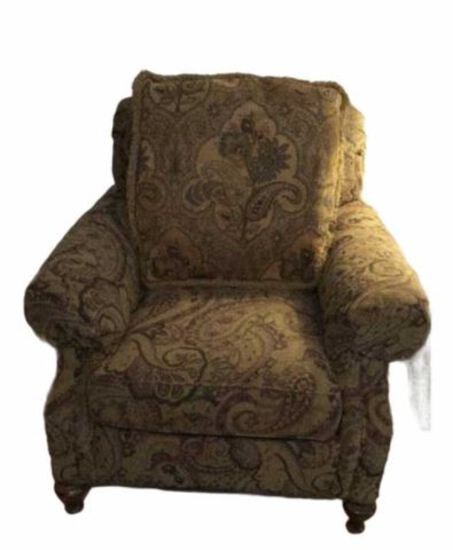 Upholstered Chair by Wesley Hall Incorporated