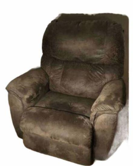 Lazy Boy Upholstered Recliner