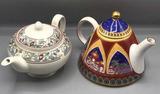 Pair of Teapots: Designer Anthony Mark Hankins