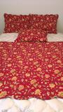 King Size Quilt and (3) Shams