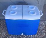 Rubbermaid Cooler on Wheels
