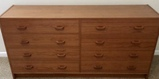8-Drawer Chest of Drawers - 58 1/2 x 16 1/4,