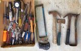 Assorted Hand Tools & Wrenches