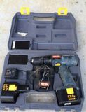 Ryobi 12V Cordless Drill with (2) Batteries,