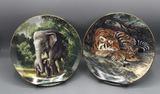 (2) Bradford Exchange Collector's Plates: