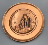 Creative World Copper Collector's Plate
