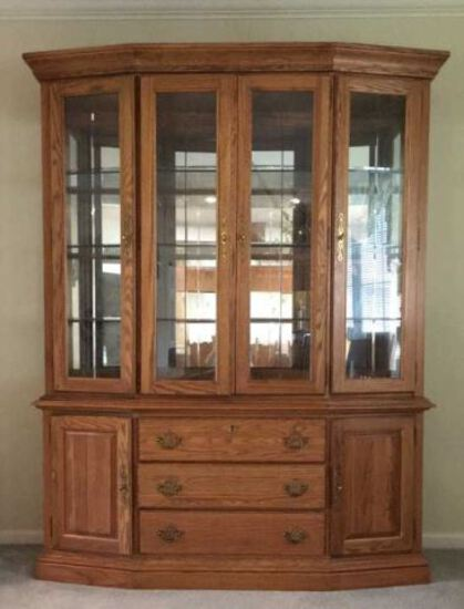 China Cabinet by Virginia House Furniture Co.