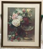 Framed & Matted Print by G. Robie--22 1/4
