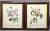(2) Framed Lithographs--9 3/4