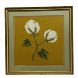 Framed and Double Matted Needle Point Picture—20