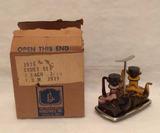 Mid Century Cruet Set, Amber Amethyst Teapot
