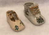 (2) Collectible Ceramic Shoes