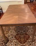 """Dining Table - 78"""" Long with 18"""" Leaf Inserted,"""