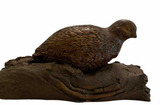 Cas-Carved Wood and Coal Reproductions Figurine