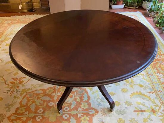"""Round Table - 47"""" W x 29"""" H"""