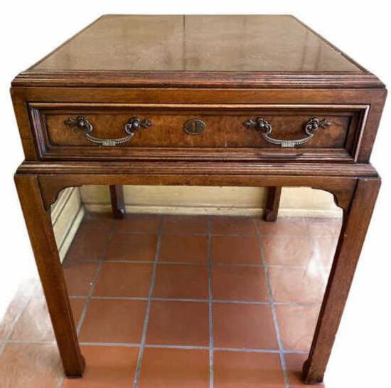Fine Arts Furniture Co. One-Drawer End Table