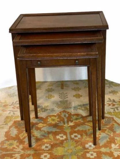 (3) Table Nesting Table - Smallest Table has One