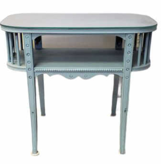 Side Table w/Glass Top
