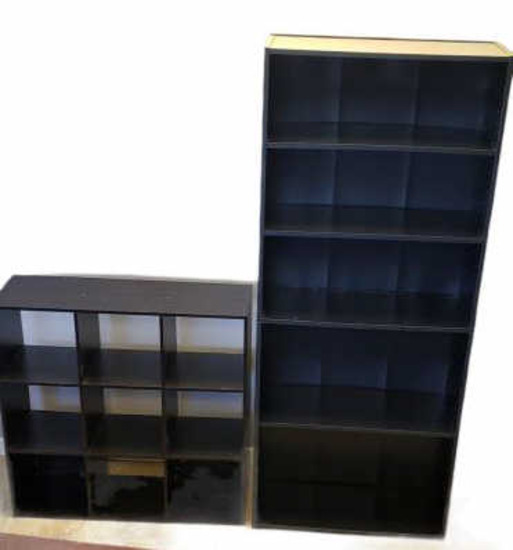 (2) Bookcases