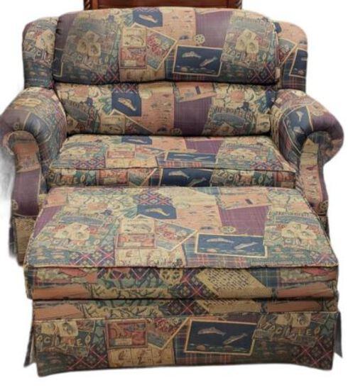 Loveseat (sofa bed) w/Storage Ottoman