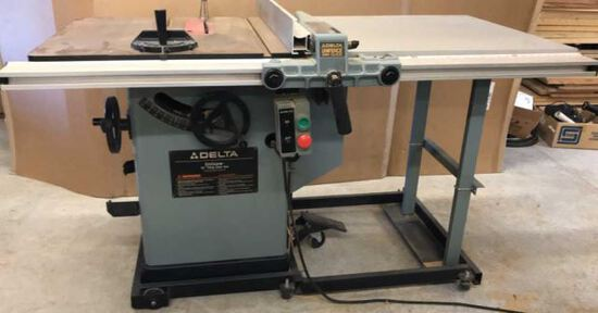 Delta 10 in. Tilting Arbor Table Saw 3HP