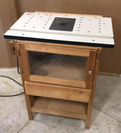 """ShopSmith Router Table with Bosch Router 30"""" W x"""