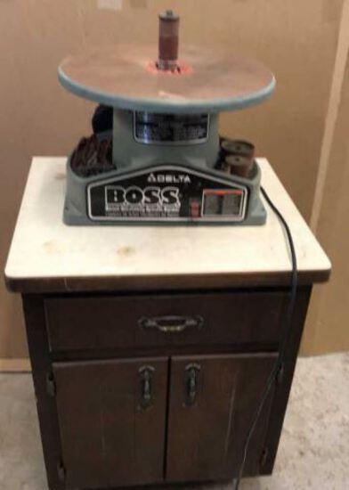 Delta Boss 1/2 HP Bench Oscillating Spindle Sander